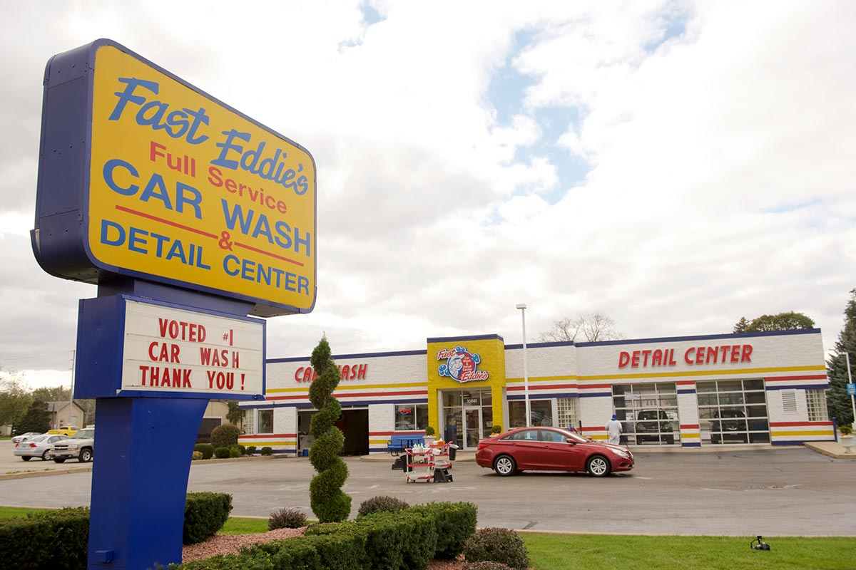 Fast Eddie's – Car Wash & Detail Center