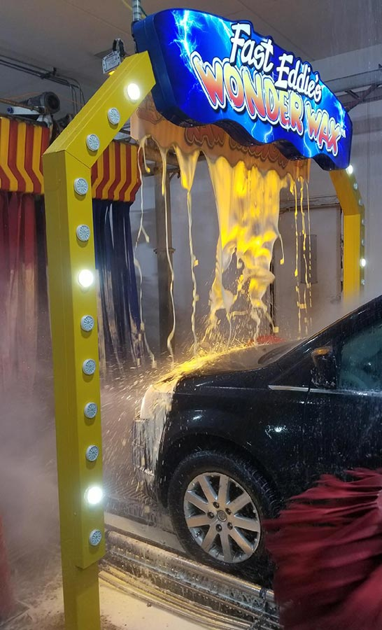 Fast eddies car wash detail center wonder wax solutioingenieria Image collections