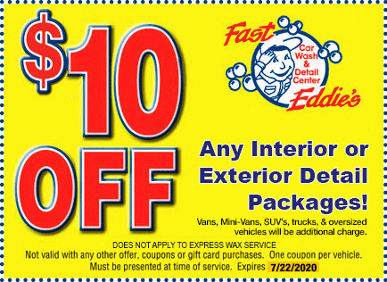 10 off any interior or exterior detail package